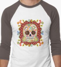 Colorful Day of the Dead Sugar Skull Shirt T-Shirt