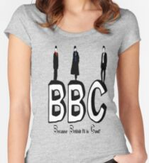 BBC Fandom Women's Fitted Scoop T-Shirt