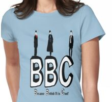 BBC Fandom Womens Fitted T-Shirt