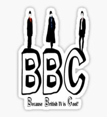 BBC Fandom Sticker