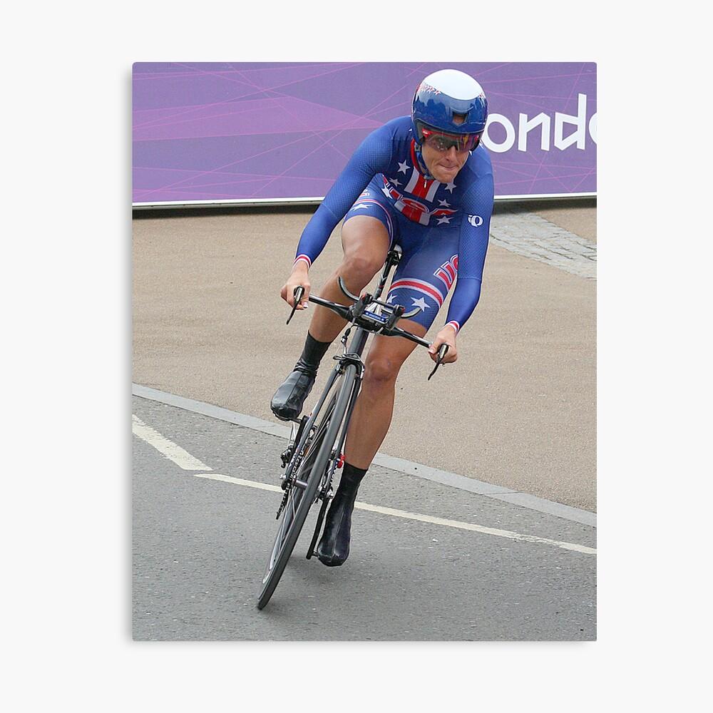 Kristen Armstrong - Starts The Women`s Individaul Time Trial - London 2012 Leinwanddruck