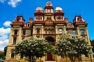 Lockhart Courthouse by Cathy Jones