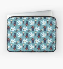 Yukon, Hermey and the Bumble in Teal Laptop Sleeve