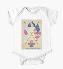 Emblems of liberty and humanity The Red Cross mother of all nations Kids Clothes