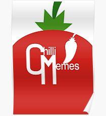 "Chilli Memes ""Red Pepper"" Poster"