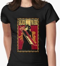 Soldier for Hire Women's Fitted T-Shirt