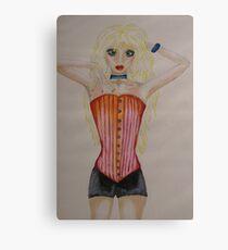 Blonde Canvas Print