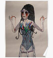 Sarah Brightman... Seems to be missing her eye balls... Poster
