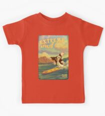 Retro Surf Kids Tee