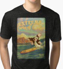 Retro Surf Tri-blend T-Shirt