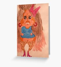 How I see Snooki! Greeting Card