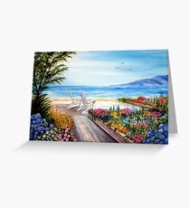 """Summer by the Sea"" Greeting Card"