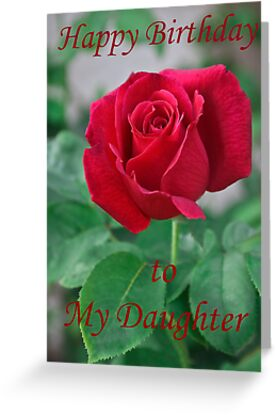Happy Birthday To My Daughter By Heather Friedman
