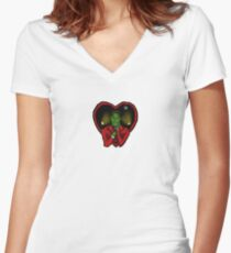 Love Lorne Women's Fitted V-Neck T-Shirt