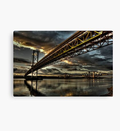 Steel Giants Canvas Print