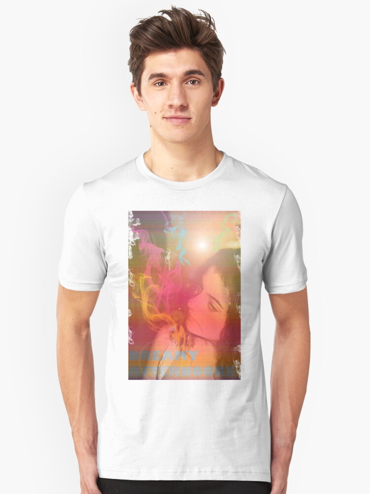 Dreamy Afternoons Urban Girl T-Shirt  Unisex T-Shirt Front