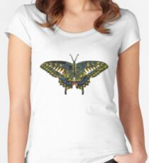 Butterfly Art Women's Fitted Scoop T-Shirt
