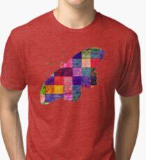 Butterfly art 12 Tri-blend T-Shirt