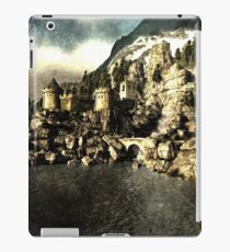 Lake castle iPad Case/Skin