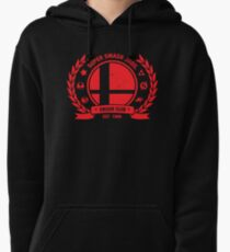 Smash Club (Red) Pullover Hoodie