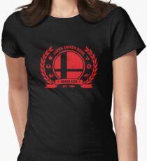 Smash Club (Rot) Tailliertes T-Shirt für Frauen
