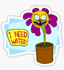 I Need Water Sticker