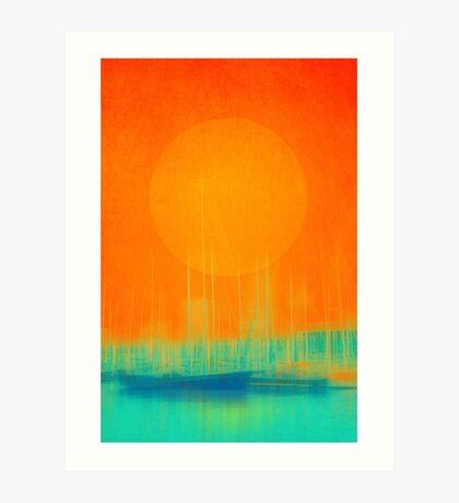 Marina Dream Art Print
