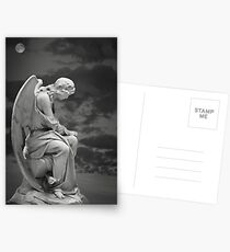 Moonlit Angel Postcards