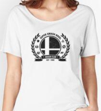 Smash Club (Black) Women's Relaxed Fit T-Shirt
