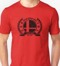 Camiseta ajustada Smash Club (negro)