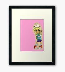 Cute Chibi Framed Print