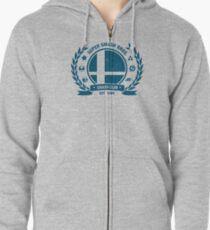 Smash Club (Blue) Zipped Hoodie