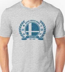 Smash Club (Blau) Slim Fit T-Shirt