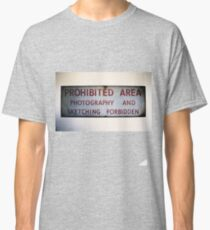 No Photography or Sketching  Classic T-Shirt