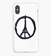Peace, Pray For Paris iPhone Case/Skin