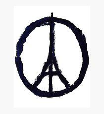Peace, Pray For Paris Photographic Print