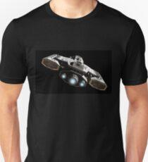 Blue Engine Glow Unisex T-Shirt