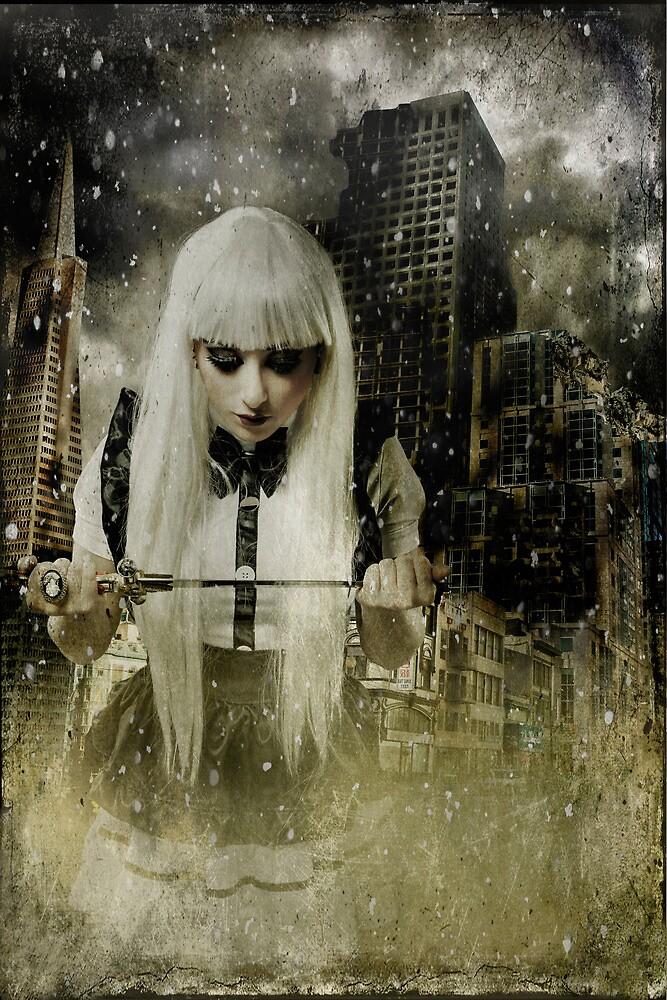 Post Apocalyptic Warrior by Sharonroseart