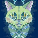 Abstract Cat by MareveDesign