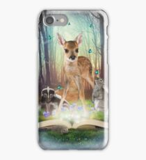 Believe In Magic • (Forest Friends: Bambi / Thumper / Flower) iPhone Case/Skin