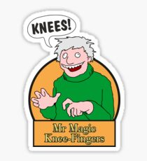 Mr Magic Knee-Fingers! Sticker