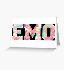 Emo Greeting Card
