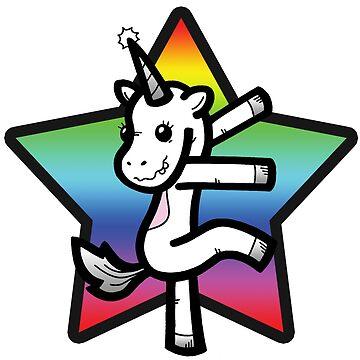Rainbow Star Spastic Pony by YFIFF