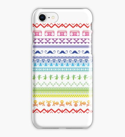 Hipster patterns iPhone Case/Skin
