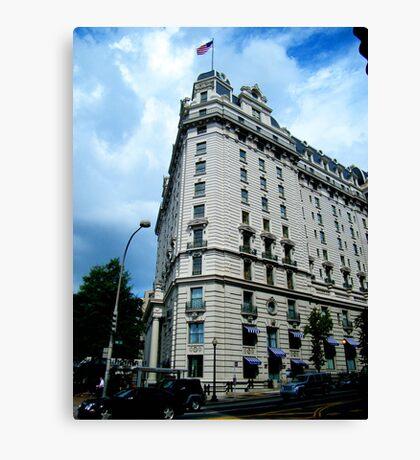 Corner Building, Washington, D.C. Canvas Print