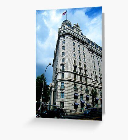 Corner Building, Washington, D.C. Greeting Card