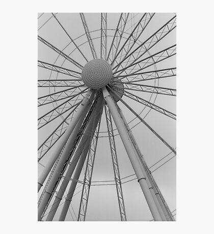 Seattle Great Wheel Photographic Print