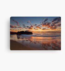 Main Beach - South West Rocks Canvas Print