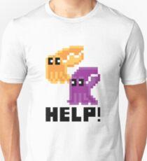 Help! Save the Cuttlefish! Cute Pixel Art Shirt T-Shirt