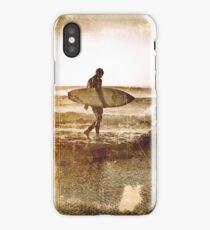 Vintage Surfer iPhone Case/Skin